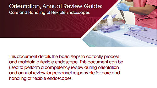 Flexible Care and Handling Orientation, Annual Review Guide