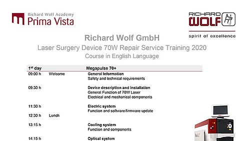 Laser Surgery Device 70W Repair Service Training 2020